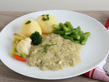 Chicken & Asparagus Mornay