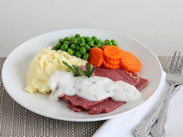 Corned Silverside W Parsley Sc